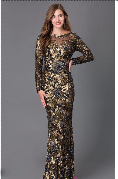 مدل لباس مجلسی بلند زنانه جدید برند maxi