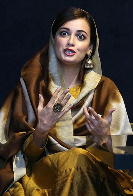 عکس های دیا میرزا بازیگر هندی زیبا +شرح حال دیا میرزا