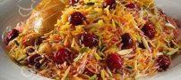آموزش آشپزی آلبالو پلو ناهار خوشمزه ایرانی
