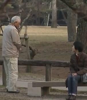 صحبت کردن زن و شوهر ژاپنی بعد از 20 سال قهر