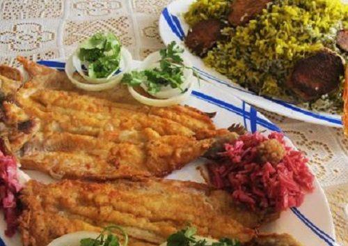 سبزی پلوی ایرانی با ماهی غذای پرطرفدار مرد ما