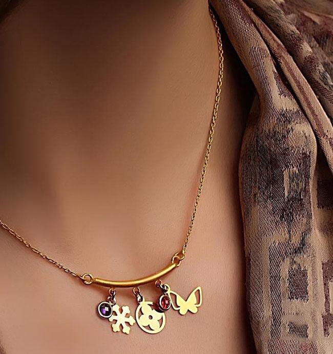 انواع زیورآلات طلا برند ایرانی farhad