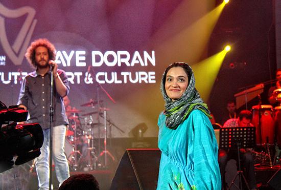 تصاویر میترا حجار و سینا حجازی