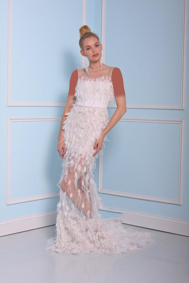 مدل های لباس عروس ساده و طرح دار مد سال 2017