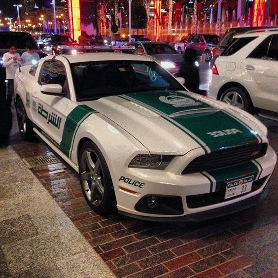 گلچین خودروهای لوکس جهان در پلیس دوبی