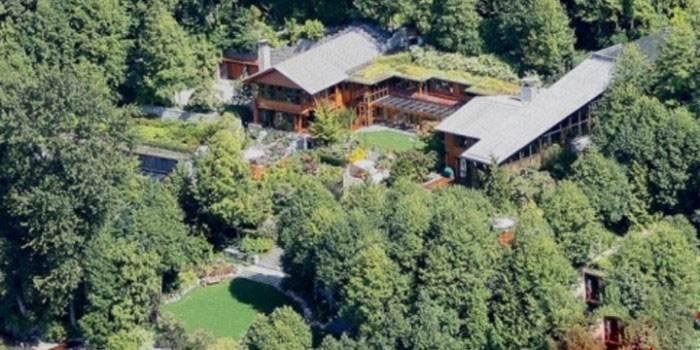 بیل گیتس در این خانه اعیانی زندگی می کند