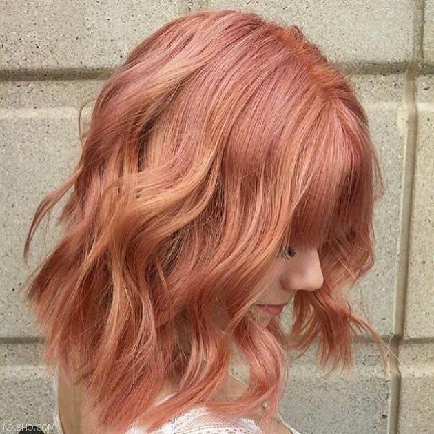 رنگ موهای مد سال 2017 برای خانم های جذاب