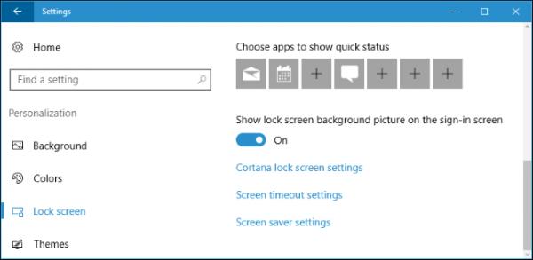 ترفند شخصی سازی لاک اسکرین ویندوز