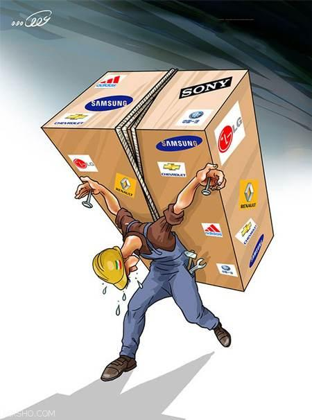 کاریکاتورهای خنده دار با موضوعات روز اجتماعی ایران