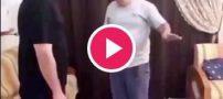 رقص خنده دار مایکل جکسون توسط جوانان غیور ایرانی