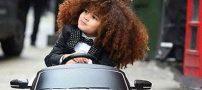 موهای کودک انگلیسی ۵ ساله جنجالی شد