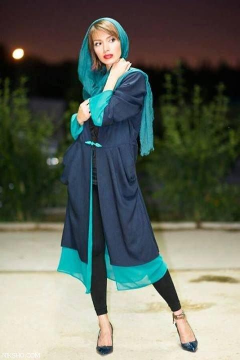 عکس مدل مانتو دخترانه جوان پسند و شیک 97