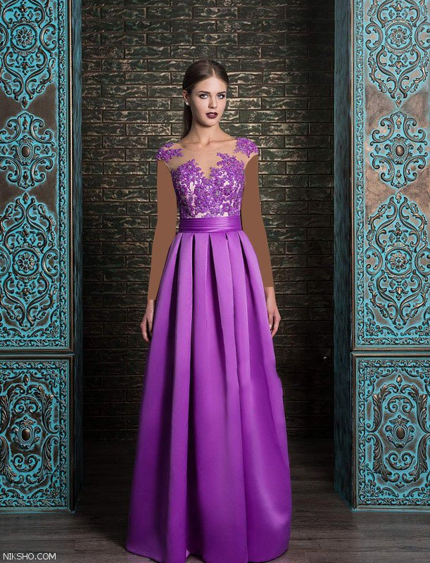 مدل لباس مجلسی زیبا و شیک از برند nika 2018