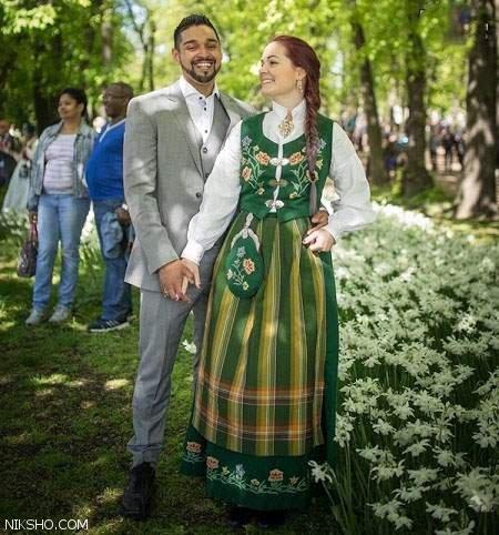 مدل لباس عروس و داماد سنتی ملل مختلف