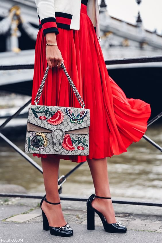 مدل های کیف دستی زنانه برند گوچی 2017