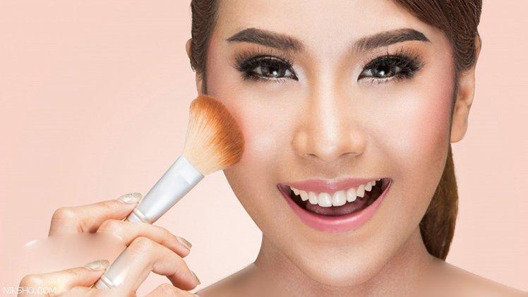 رژگونه یکی از کلیدی ترین لوازم آرایشی خانم ها