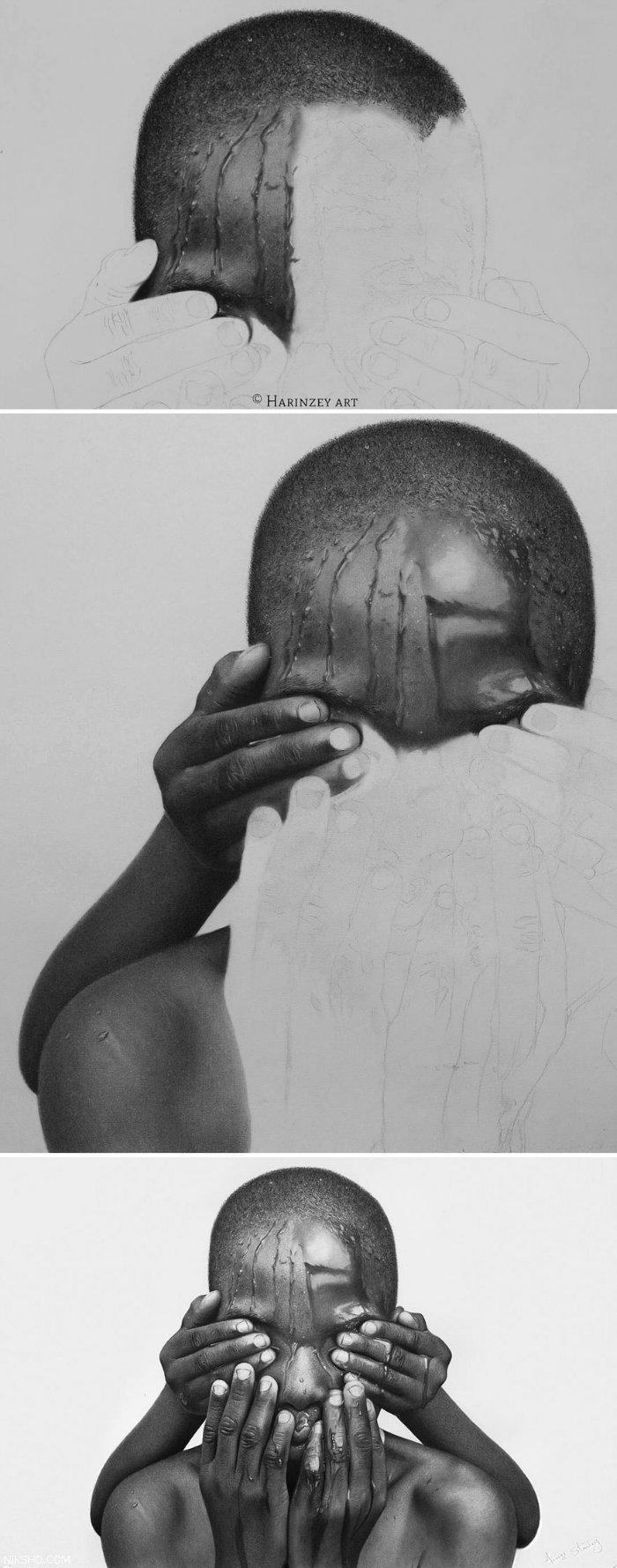 نقاشی های واقع گرایانه با مداد که باورتان نمی شود