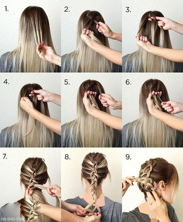 موهای خود را به سبک هلندی ها ببافید
