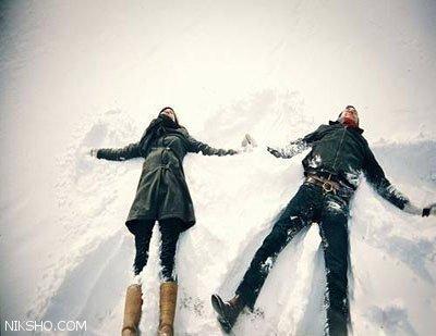 شعر زیبا از احمد شاملو برف می بارید و ما آرام