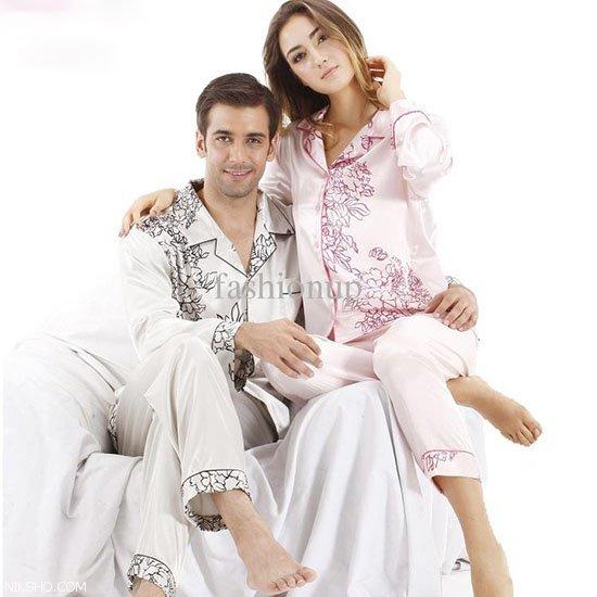 ست لباس خواب عروس و داماد وِیژه شب زفاف داغ