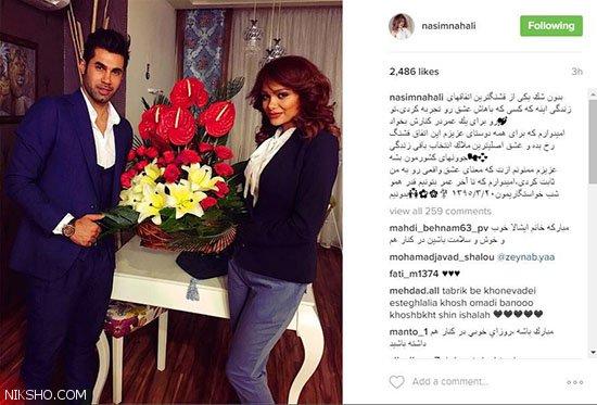 محسن فروزان به خاطر مدل بودن همسرش محروم شد