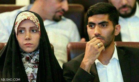 نوع لباس پوشیدن همسر محمد انصاری بازیکن پرسپولیس