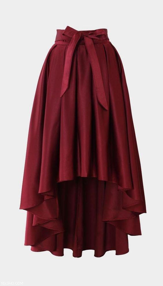 کلکسیون ست دامن پیراهن و کفش زنانه شیک 2019