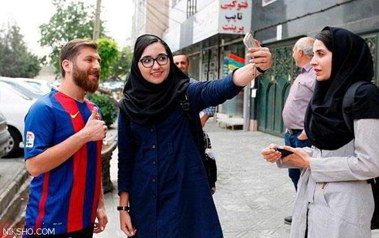 نیروی های پلیس رضا پرستش بدل مسی را بردند