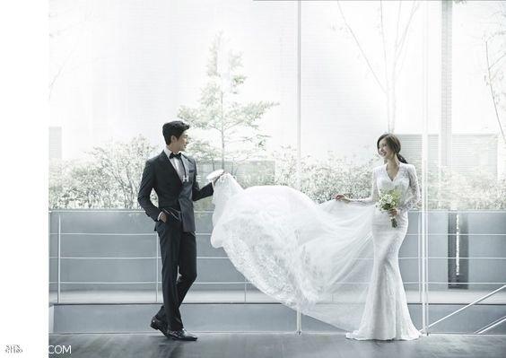 زیباترین ژست عکاسی عروس و داماد اینجاست