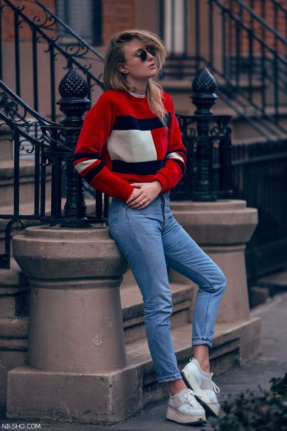 مدل لباس زنانه و دخترانه استایل خیابانی شیک