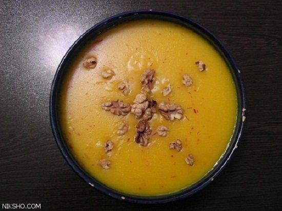 طرز تهیه دسر ایرانی کاچی فوق العاده خوشمزه
