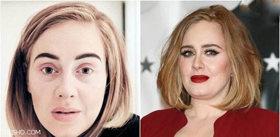 چهره بازیگران زیبارو و جذاب هالیوود بدون هیچ آرایشی