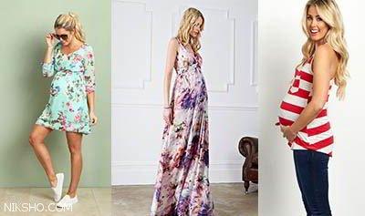 عکس+مدل+لباس+مجلسی+بارداری