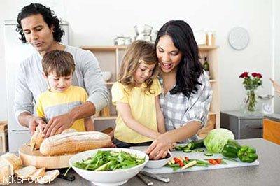رابطه انجام کارهای خانه توسط بچه ها و مسئولیت پذیری آنان