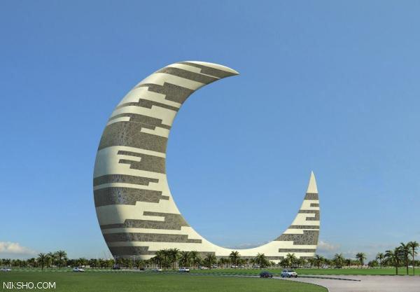 سفر به برج هلال ماه در دوبی شهر رویایی امارات