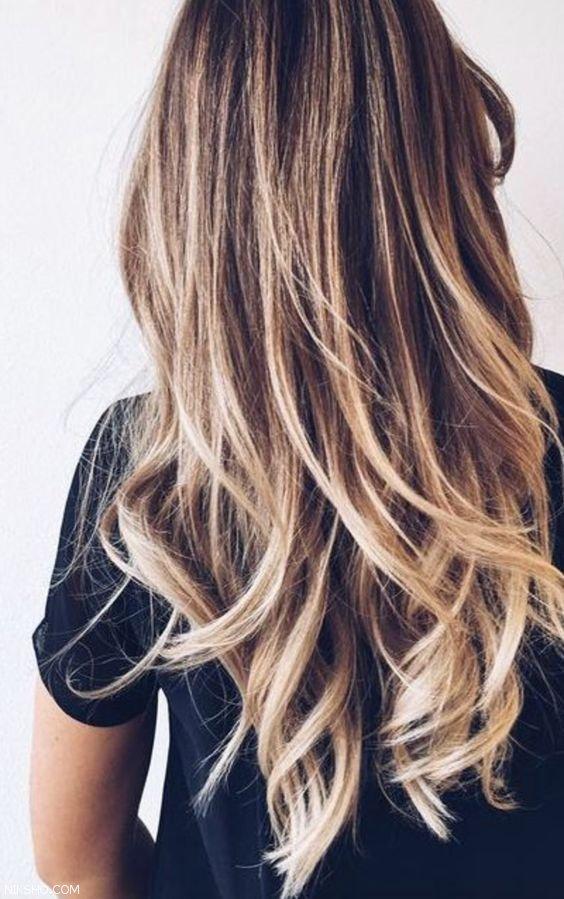 انواع جذاب رنگ موی زنانه +مدل موی زنانه 2017