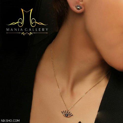 مدل طلا جواهرات ظریف کاری شده برند مانیا