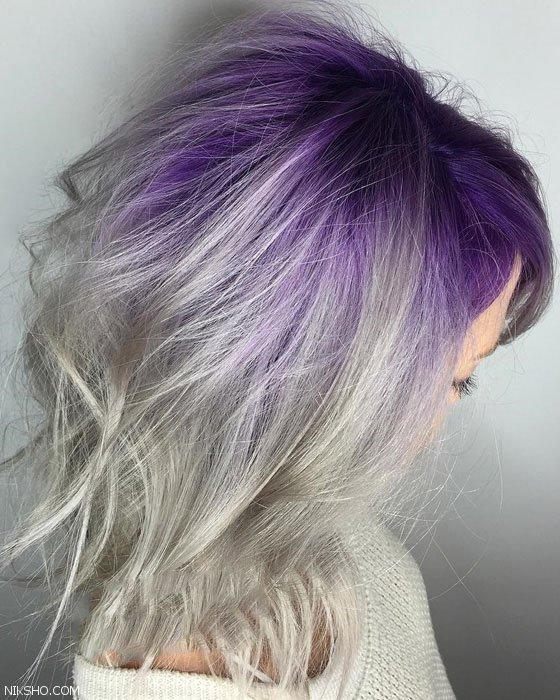 بهترین رنگ موهای شاد زنانه فانتزی را اینجا ببینید