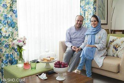 دکوراسیون آرام بخش خانه آیدا و سروش در تهران