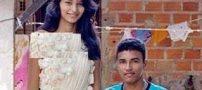 دختر زیبای ۱۸ ساله قدبلندترین عروس جهان +عکس