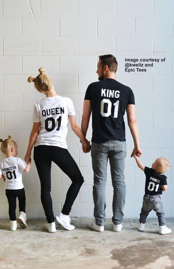 ست لباس عاشقانه کینگ و کویین دختر و پسر