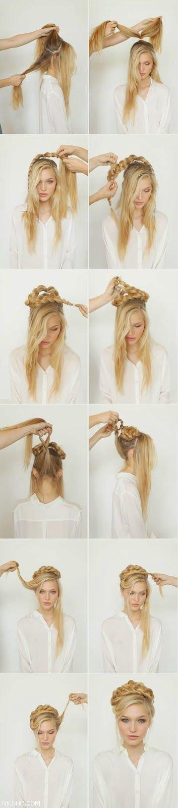 مدل بافت موی زنانه با طرح های خیلی جذاب +آموزش تصویری