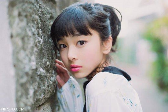 دختر 13 ساله ژاپنی با زیبایی اش جنجال به پا کرد
