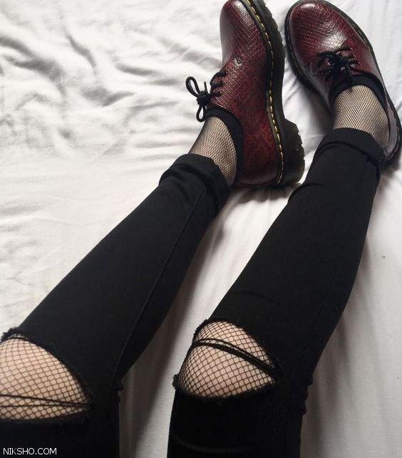 مدل کفش اسپرت دخترانه اسنیکر خیلی جذاب