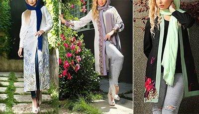 مدل مانتو تابستانی طراحی ایرانی برند Anahita