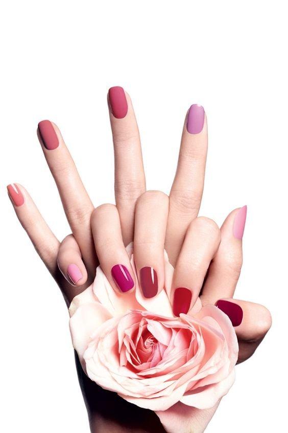 ست رنگ های جذاب لاک ناخن برای دختران شاد