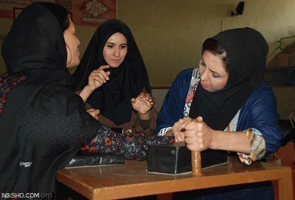 مسابقات مچ اندازی دختران جوان ایرانی +عکس