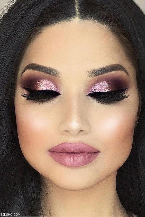 آرایش صورت در انواع مدل های داغ و جذاب 2019