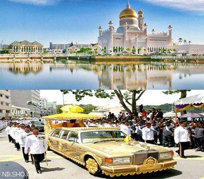 بزرگ ترین قصر و کلکسیون خودرو جهان در اختیار این مرد