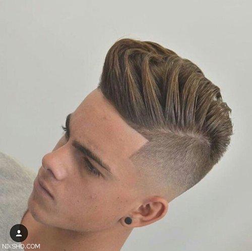 مدل موی مردانه کوتاه و بلند جذاب و شیک 2017